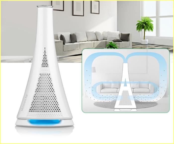 Máy lọc không khí giúp tạo ra môi trường sống trong sạch
