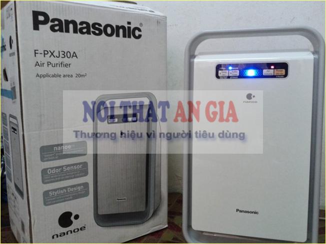 Máy lọc không khí Panasonic - thiết kế nhỏ gọn, tính năng hữu ích