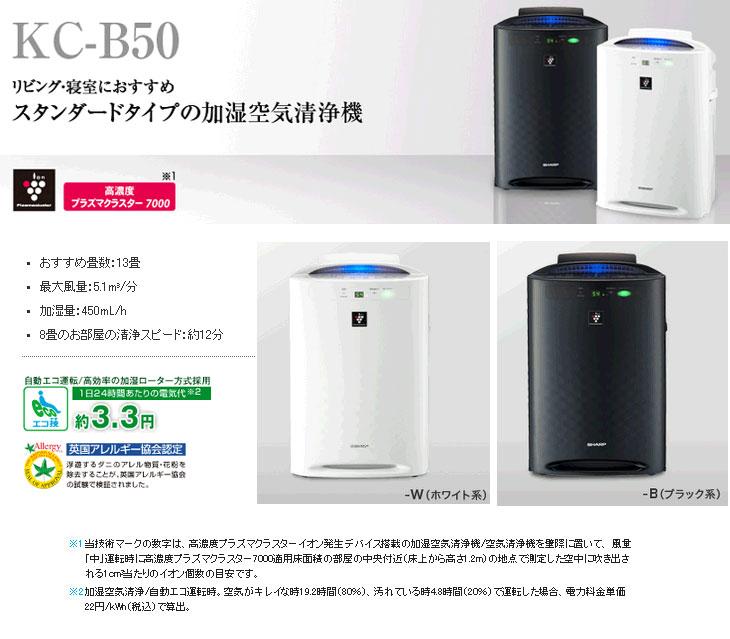 sharp kc-b50